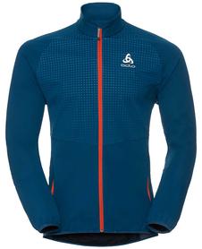 Odlo Stryn Jacket wodoodporna męska kurtka - niebieska