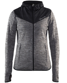 CRAFT BREAKAWAY JERSEY JACKET -damska bluza z kapturem