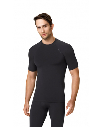GWINNER TOP V męska koszulka termoaktywna, czarna