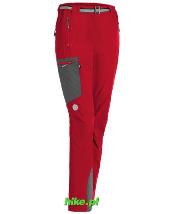 Milo Vino Lady - damskie spodnie - czerwone