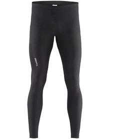 męskie legginsy do biegania Craft Radiate Tights czarne