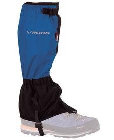 dwukolorowe ochraniacze na buty Viking czarne/niebieskie