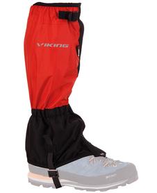 dwukolorowe ochraniacze na buty Viking czarne/czerwone