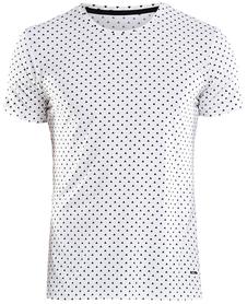 Craft Essential SS RN - męska koszulka z krótkim rękawem biała print