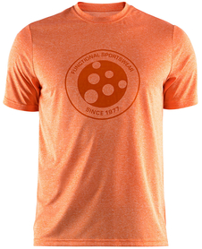 Craft Melange Graphic Tee - męska koszulka - pomarańczowa