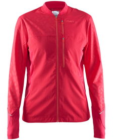 Craft  Breakaway Jacket - damska kurtka - malinowa