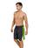 GWINNER CEZAR II - męskie spodenki kąpielowe, szaro-zielone