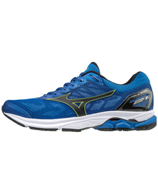 MIZUNO WAVE RIDER 21 - męskie buty do biegania, niebieskie