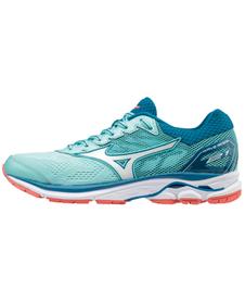 MIZUNO WAVE RIDER 21 - damskie buty do biegania, niebieskie