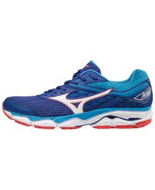 MIZUNO WAVE ULTIMA 9 SS18 - męskie buty do biegania, niebieskie