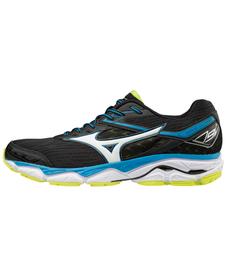 MIZUNO WAVE ULTIMA 9 SS18 - męskie buty do biegania, czarne
