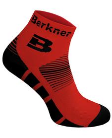 Berkner Premium Socks Bike - skarpety rowerowe 2 pary - czerwone