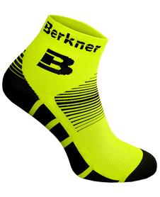 Berkner Premium Socks Bike - skarpety rowerowe 2 pary - żółte