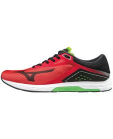 MIZUNO SONIC - męskie buty do biegania, czerwone