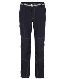 MILO ATERO - męskie spodnie, czarne