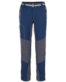MILO ATERO - męskie spodnie, granatowe
