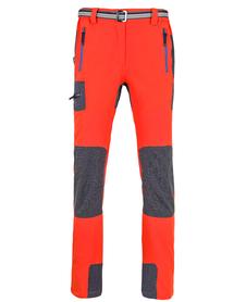 MILO GABRO - męskie spodnie, pomarańczowe