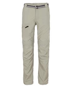 MILO L'GOTA - męskie spodnie z odpinanymi nogawkami, jasnoszare