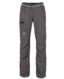 MILO L'GOTA LADY - damskie spodnie z odpinanymi nogawkami, szare