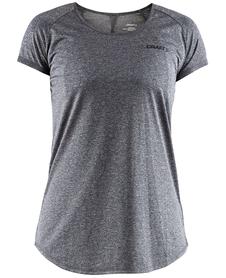 Craft Eaze Melange Tee - damska koszulka z krótkim rękawkiem szara