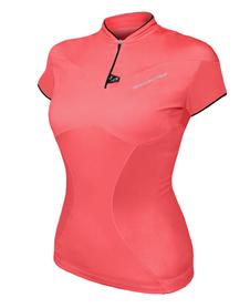 BERKNER DALIA II - damska koszulka rowerowa - różowa