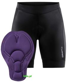 Craft Rise Shorts - damskie spodenki rowerowe - czarne