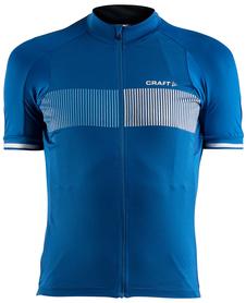 Craft Verve Glow Jersey - męska koszulka rowerowa - ciemny niebieski