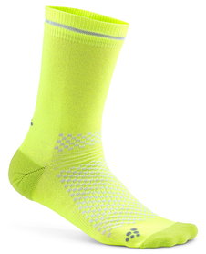 Craft Visible Sock - skarpety sportowe - żólte