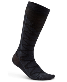 Craft Compression Pattern Sock - skarpety kompresyjne - czarne