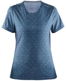 Craft Mind SS tee - damska koszulka - niebieska pint
