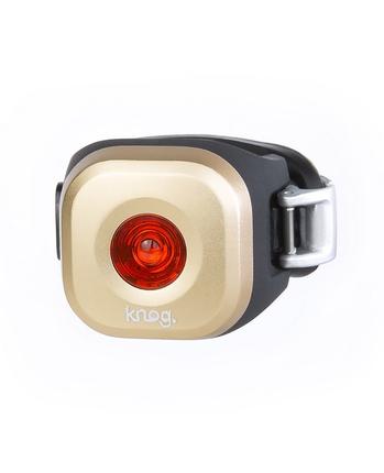 Knog Blinder Mini Dot tylna lampka rowerowa mosiądz