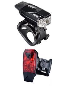 Infini Mini Lava Set zestaw oświetlenia rowerowego