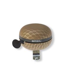 Basil Noir Big Bell dzwonek rowerowy Ø 60mm, gold metallic