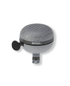 Basil Noir Big Bell dzwonek rowerowy Ø 60mm, silver metallic