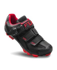 FLR F-65.III buty rowerowe MTB czarne-czerwone