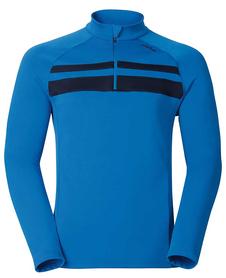 Odlo Tahoe Vista - męska bluza - niebieska
