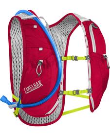 Camelbak Circuit Running Vest plecak do biegania biały/czerwony