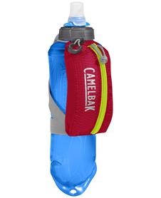 Uchwyt biegowy Camelbak Nano Handheld wraz z bidonem Quick Stow Flask - czerwony