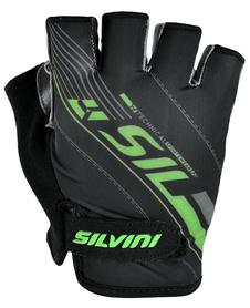 Silvini Ispiene rękawiczki rowerowe czarne