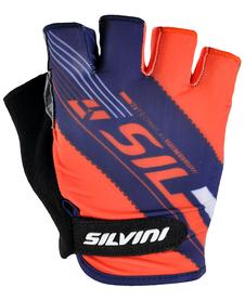 Silvini Ispiene rękawiczki rowerowe niebieskie/czerwone