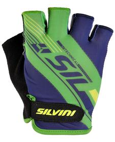 Silvini Ispiene rękawiczki rowerowe niebieskie/zielone