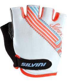Silvini Caronie damskie rękawiczki rowerowe białe