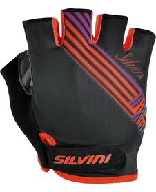Silvini Caronie damskie rękawiczki rowerowe czarne
