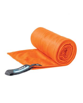 Sea to Summit Pocket Towel ręcznik szybkoschnący pomarańczowy