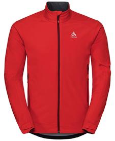 Odlo Lolo Jacket - ciepły softshell - czerwony