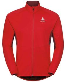 Odlo Jacket Aeolus Element Warm - kurtka męska - czerwona