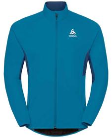 Odlo Jacket Aeolus Element Warm - kurtka męska - niebieska