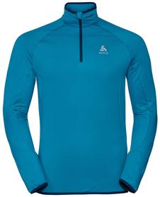 Odlo Carve Light - męska bluza - niebieska