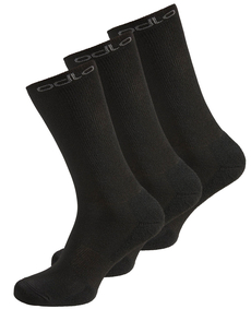 Odlo Sport Socks High 3 PACK WARM Socks uniwersalne ciepłe skarpety 3 pary - czarne