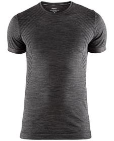 Craft Fuseknit Comfort RN - koszulka męska z krótkim rękawem grafitowa